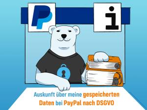 PayPal: Auskunft über gespeicherte Daten