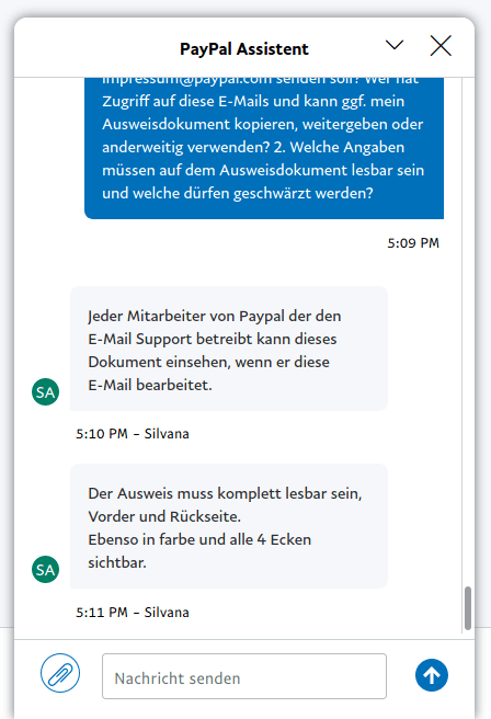 Paypal Dsgvo Mail